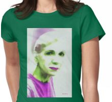 Gazing Through Glass Womens Fitted T-Shirt