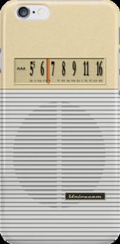 Transistor Radio - Gilligan's Desert Isle Model by ubiquitoid