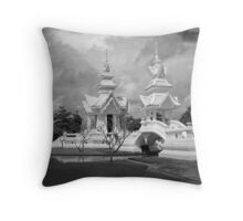 Wat Rong Kun Throw Pillow