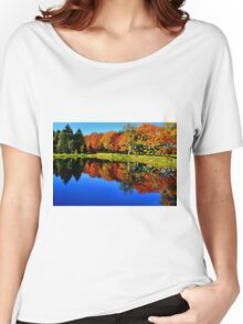 Autumn Foliage at St. James Women's Relaxed Fit T-Shirt