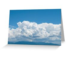 Cuddling in The Sky Greeting Card