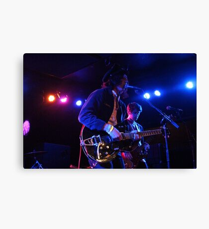 Band Playing Live Music Canvas Print