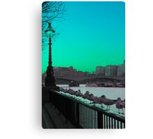 Green day in London Canvas Print