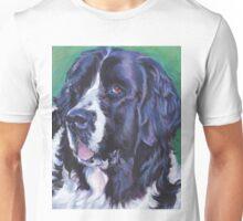 Newfoundland Dog Fine Art Painting Unisex T-Shirt