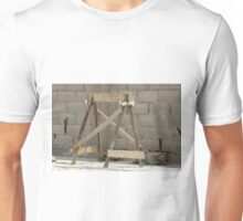 Sawhorse at a Construction Site Unisex T-Shirt