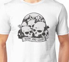 Skulls (Doom and gloom) Unisex T-Shirt