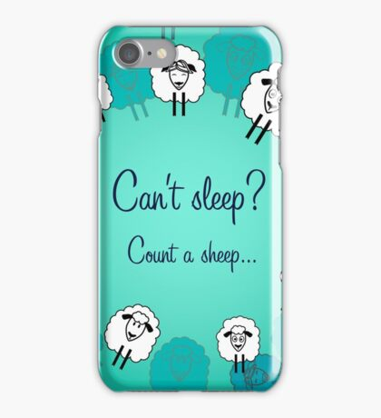 Cute sheeps for each day iPhone Case/Skin