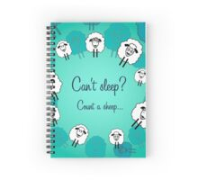 Cute sheeps for each day Spiral Notebook