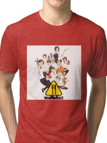 Working!!! - Wagnaria Tri-blend T-Shirt