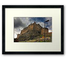 The Castle from the Grassmarket Framed Print
