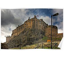 The Castle from the Grassmarket Poster