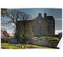 The Parish Church at Kirkliston Poster