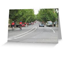 Bupa Challenge Riders Mount Pleasant, Adelaide Hills. Greeting Card