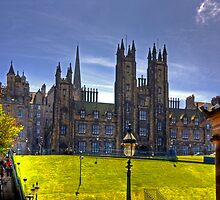 New College on The Mound by Tom Gomez