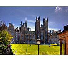 New College on The Mound Photographic Print
