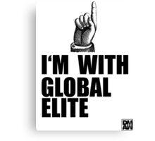 I'm with Global Elite Canvas Print