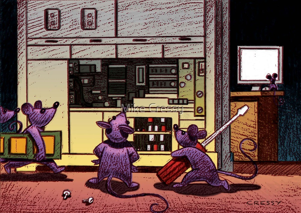 The Technician's mice by Mike Cressy