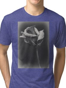 Gray rose Tri-blend T-Shirt