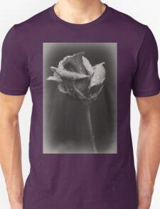 Gray rose T-Shirt
