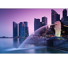 Merlion of Singapore Photographic Print