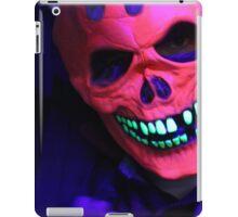 Neon Glowing Mask Notebook iPad Case/Skin