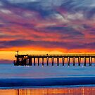 Bacara (Haskells ) Beach and pier, Santa Barbara by Eyal Nahmias