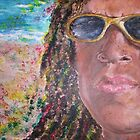 Rasta John (Acrylic) by Jennifer Ingram