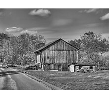along the back road Photographic Print