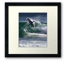 Chase Wilson Surfer Framed Print