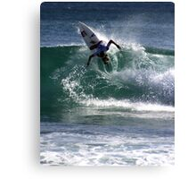 Chase Wilson Surfer Canvas Print