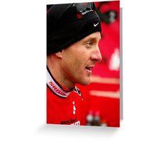 Levi Leipheimer ~Tour of the Gila 2010  Greeting Card