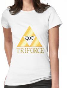 GOT TRIFORCE Womens Fitted T-Shirt