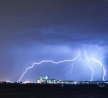 Industrial Lightning by stevebrooks