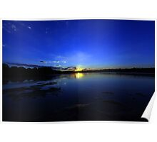 currimundi lake sunset Poster