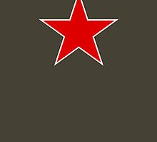 Star of communist by Mitchthe