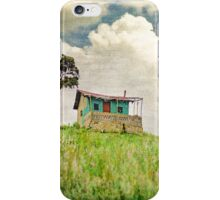Little Shack in Colombia  iPhone Case/Skin