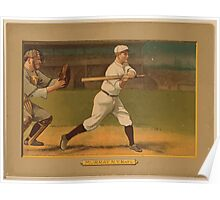 Benjamin K Edwards Collection Red Murray New York Giants baseball card portrait Poster