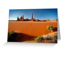 Totem Pole Sands Greeting Card
