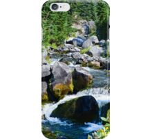 Mount Rainier - Skyline Trail - Paradise River Waterfall iPhone Case/Skin