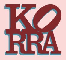Love Korra Kids Clothes