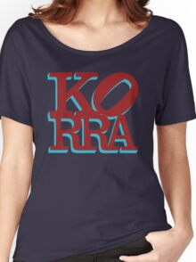 Love Korra Women's Relaxed Fit T-Shirt
