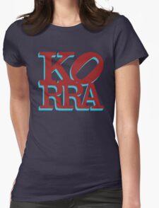 Love Korra Womens Fitted T-Shirt
