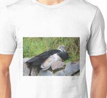 Andean Condor on a Rock Unisex T-Shirt