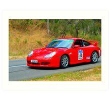 Porsche 911 GT3 - 2000 Art Print