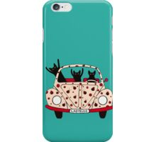 Driving Cats iPhone Case/Skin