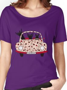 Driving Cats Women's Relaxed Fit T-Shirt
