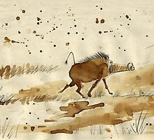 The Lesser Pinocchio-Nosed Warthog* by Dani D.