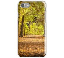 High Elms Woodland walk iPhone Case/Skin