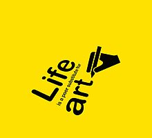 Art v Life - Yellow by Ron Marton