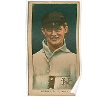Benjamin K Edwards Collection Red Murray New York Giants baseball card portrait 001 Poster